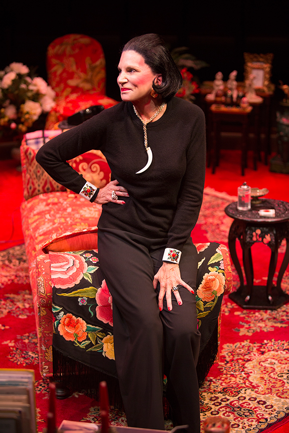 Mercedes Ruehl stars as Diana Vreeland