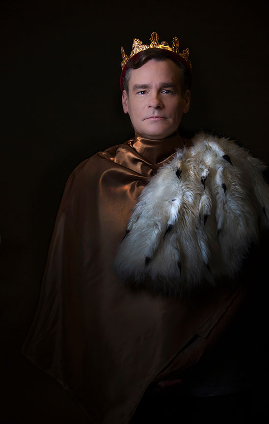 Robert Sean Leonard appears in the title role of King Richard II, by William Shakespeare, directed by Erica Schmidt, running June 11 - July 15, 2017. Photo by Jim Cox.