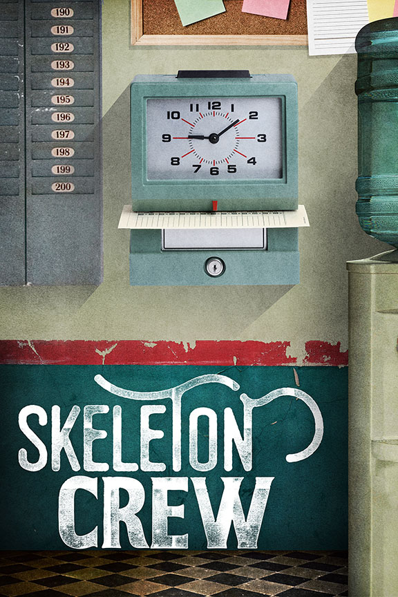 Skeleton Crew written by Dominique Morisseau and directed by Delicia Turner Sonnenberg, runs April 8 – May 7, 2017 at The Old Globe. Artwork courtesy of The Old Globe.