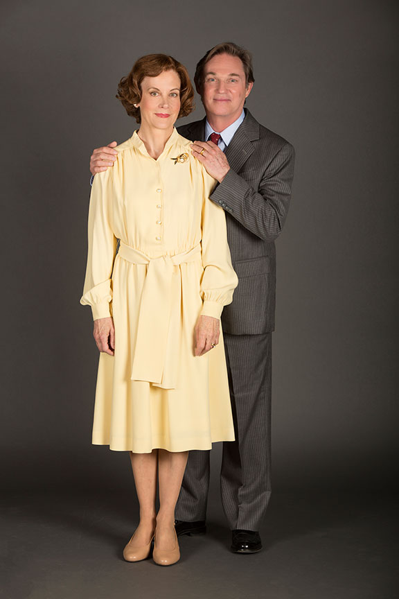 Hallie Foote as Rosalynn Carter and Richard Thomas