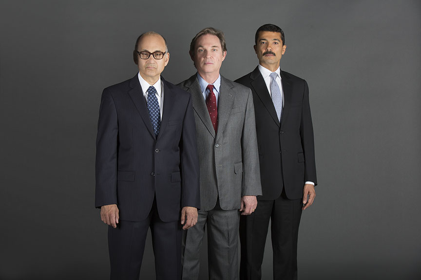 Khaled Nabawy as Anwar Sadat, Richard Thomas as Jimmy Carter, and Ned Eisenberg as Menachem Begin