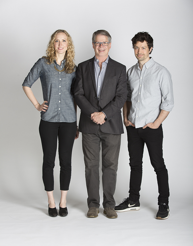 Richard Seer, Victoria Frings, and Christian Coulson