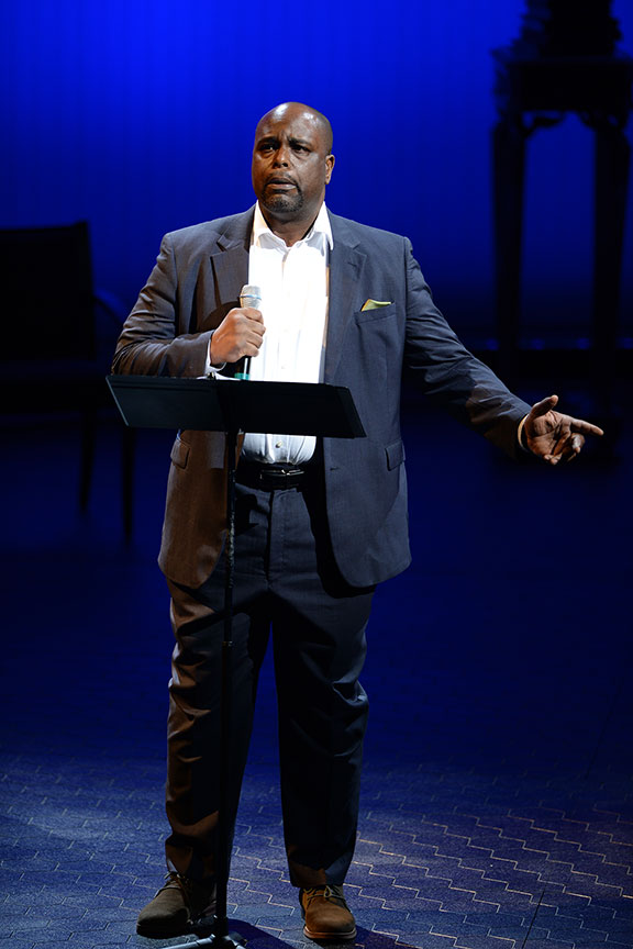 J. Bernard Calloway joined a constellation of luminaries to perform in Shakespeare in America