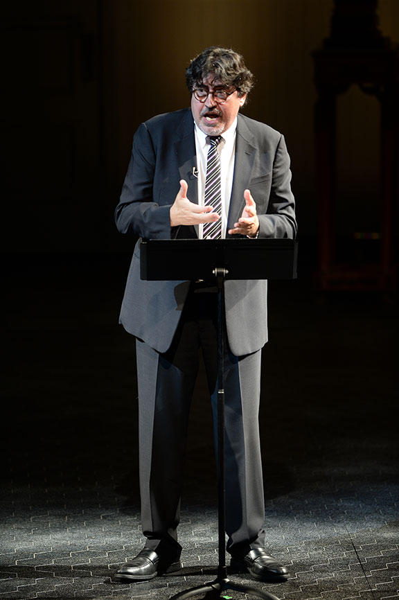 Alfred Molina joined a constellation of luminaries to perform in Shakespeare in America