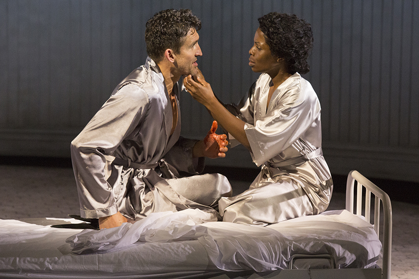 Jonathan Cake as Macbeth and Marsha Stephanie Blake stars as Lady Macbeth