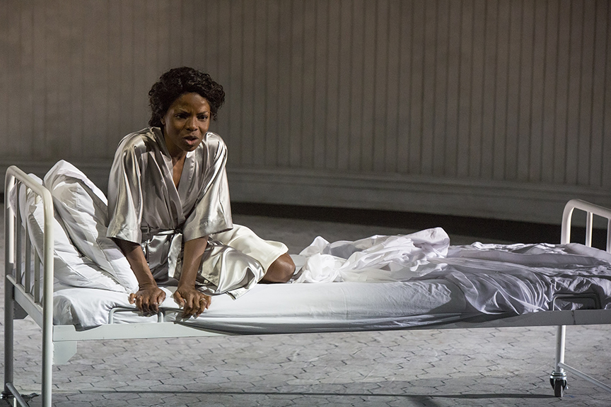 Marsha Stephanie Blake stars as Lady Macbeth of William Shakespeare's Macbeth