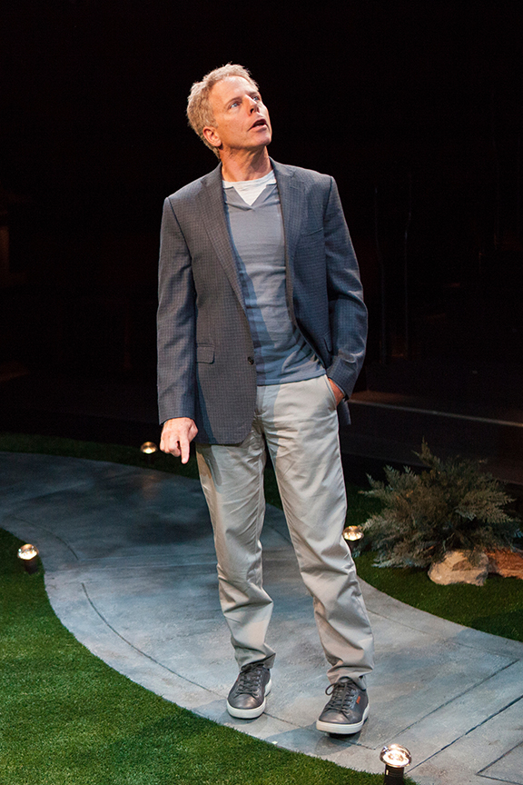 Greg Germann appears as Norm in the world premiere of Steve Martin's Meteor Shower, an adult comedy, directed by Edelstein, July 30 - Sept. 18, 2016 at The Old Globe. Photo by Jim Cox.