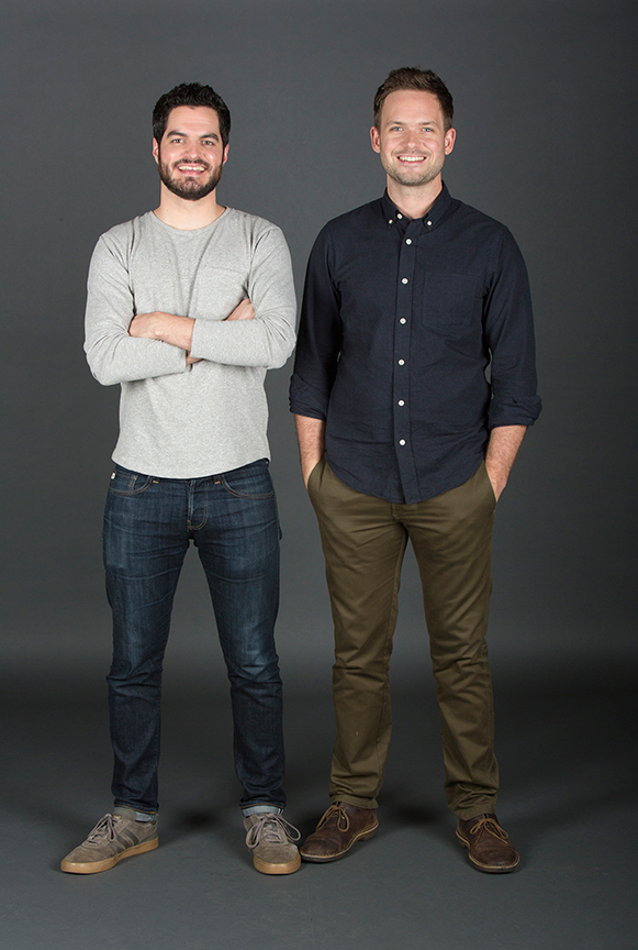 Alex Mickiewicz stars as Sergei and Patrick J. Adams as Tim