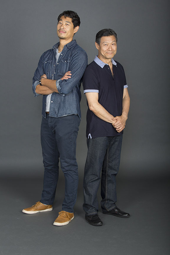 Tim Chiou appears as Takashi and James Saito appears as Koji