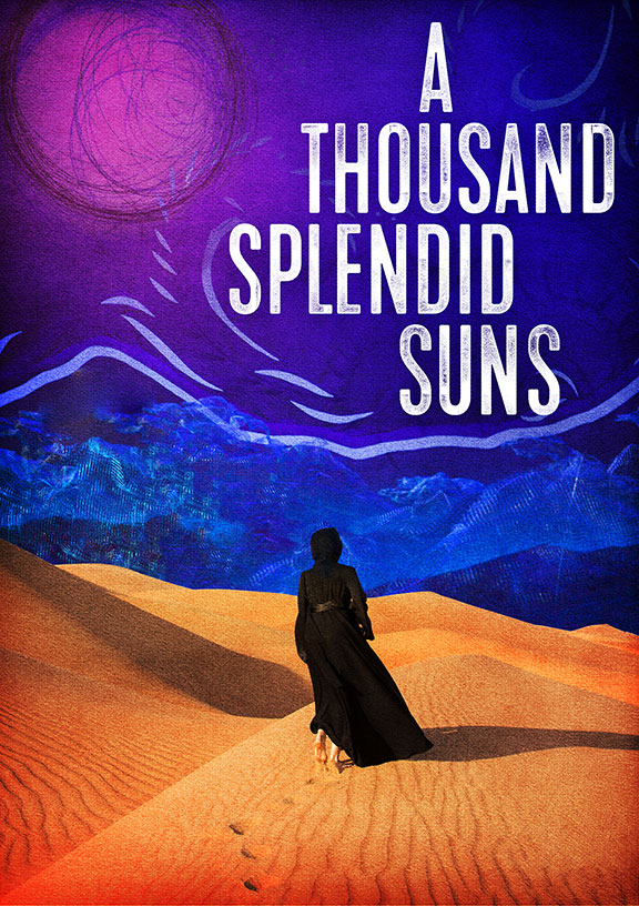 A Thousand Splendid Suns, written by Ursula Rani Sarma, book by Khaled Hosseini, directed by Carey Perloff, and co-produced by American Conservatory Theater, runs May 12 – June 17, 2018 at The Old Globe. Artwork courtesy of The Old Globe.