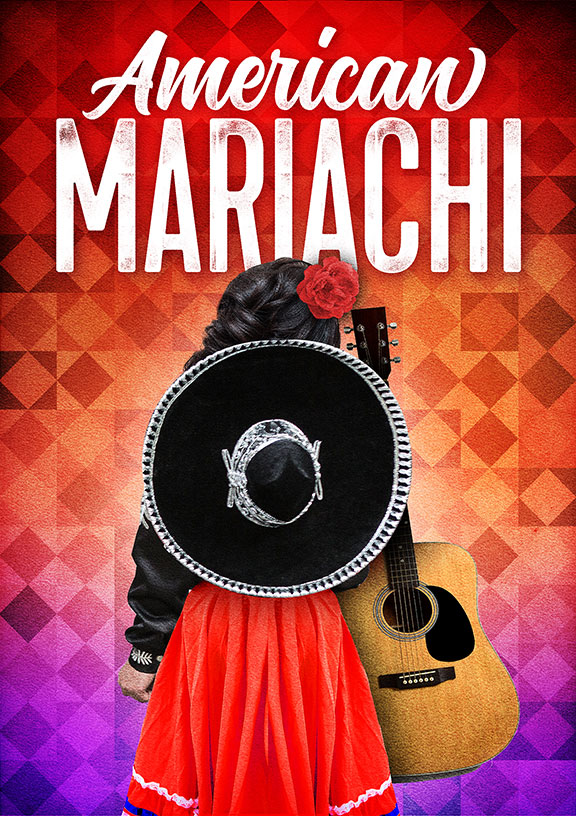 American Mariachi, written by José Cruz González, directed by James Vásquez, and co-produced by Denver Center for the Performing Arts, runs March 23 – April 29, 2018 at The Old Globe. Artwork courtesy of The Old Globe.