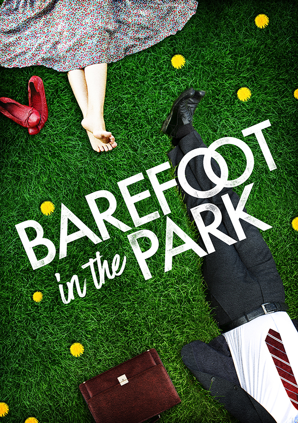 Barefoot in the Park, by Neil Simon, runs July 28 - August 26, 2018 at The Old Globe. Artwork courtesy of The Old Globe.