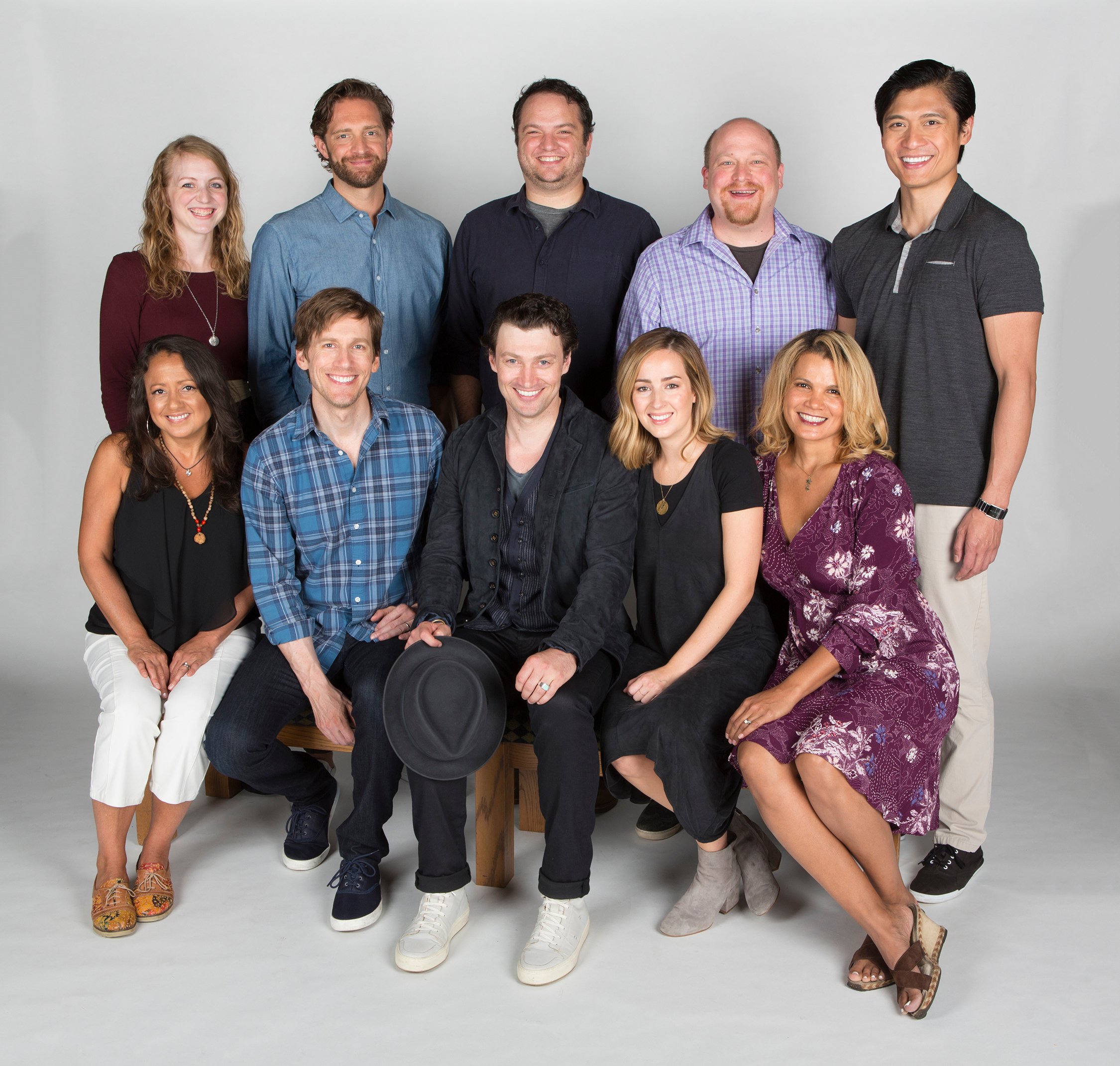 the cast of benny joon book by kirsten guenther music by nolan gasser lyrics by mindi dickstein directed by jack cummings iii running september 7 - Christmas Bounty Cast