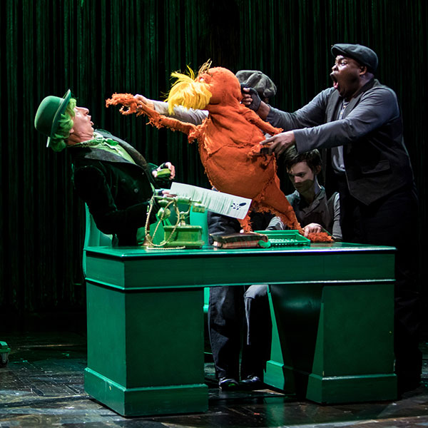 Dr. Seuss's The Lorax Production Photos
