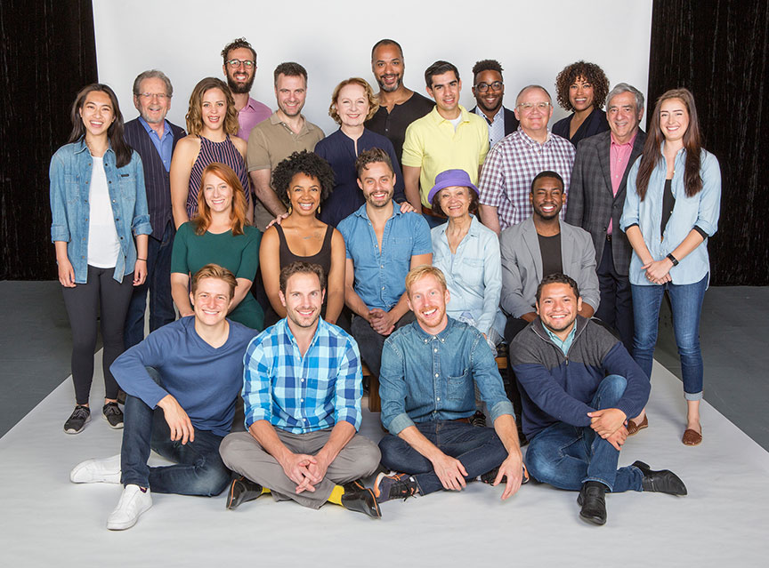 The cast of The Tempest, by William Shakespeare, running June 17 – July 22, 2018 at The Old Globe. Photo by Jim Cox.