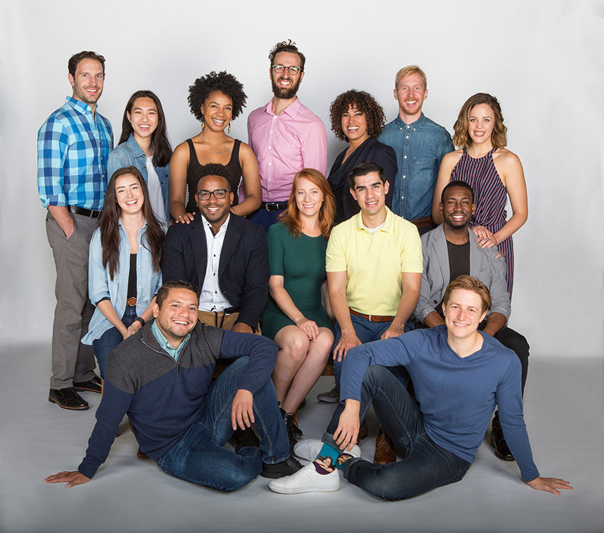 The MFA classes of the 2017-2018 Summer Shakespeare Festival. The Tempest, by William Shakespeare, running June 17 – July 22, 2018 at The Old Globe. Photo by Jim Cox.