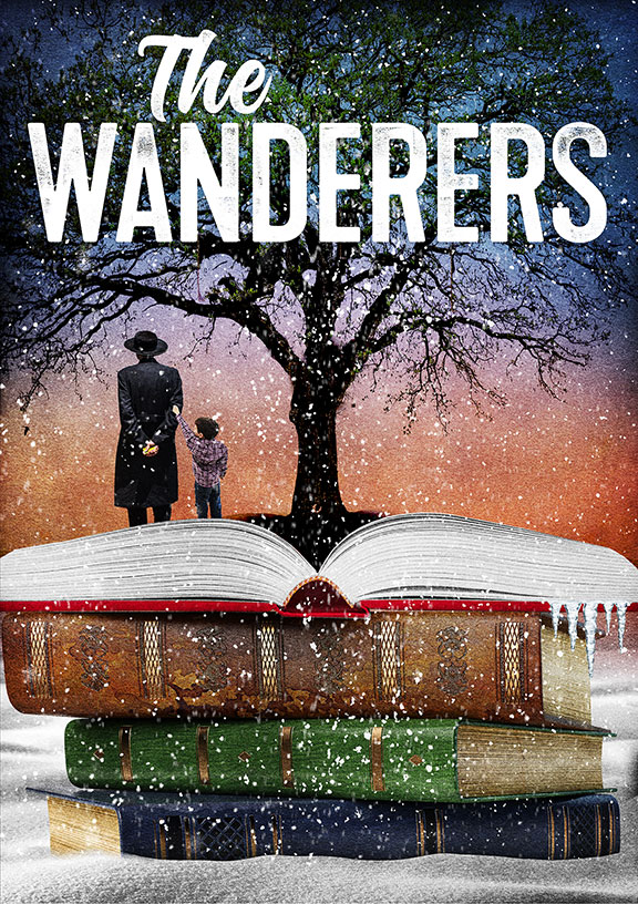 The Wanderers, by Anna Ziegler, and directed by Barry Edelstein, runs April 5 – May 6, 2018 at The Old Globe. Artwork courtesy of The Old Globe.