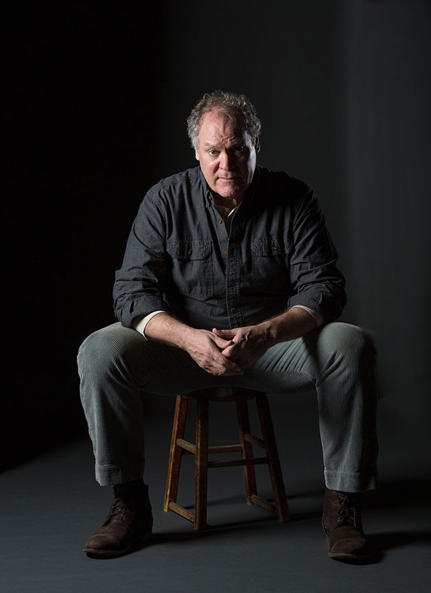 Jay O. Sanders appears as the title character of Ványa. Uncle Vanya, translated by Richard Pevear and Larissa Volokhonsky, and directed and translated by Richard Nelson, runs February 10 – March 11, 2018 at The Old Globe. Photo by Jim Cox.