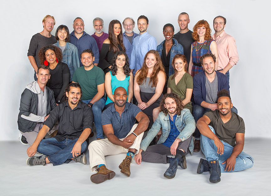 The cast of As You Like It, by William Shakespeare, directed by Jessica Stone, runs June 16 – July 21, 2019 at The Old Globe. Photo by Jim Cox.