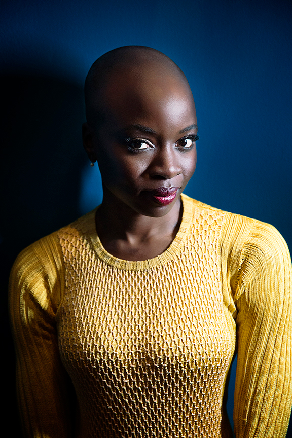 Playwright Danai Gurira. Familiar, by Danai Gurira and directed by Edward Torres, will run January 26 – March 3, 2019 at The Old Globe. Photo courtesy of The Old Globe.
