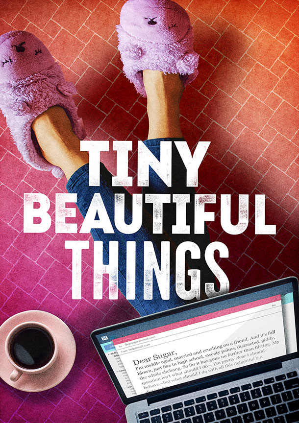 Tiny Beautiful Things will run February 9 – March 10, 2019 at The Old Globe.